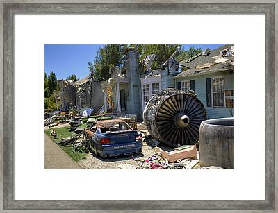 War Of The Worlds Framed Print by Ricky Barnard