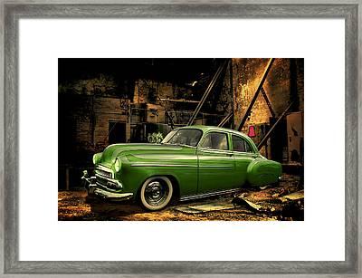 Warehouse Gem Framed Print by Steven Agius