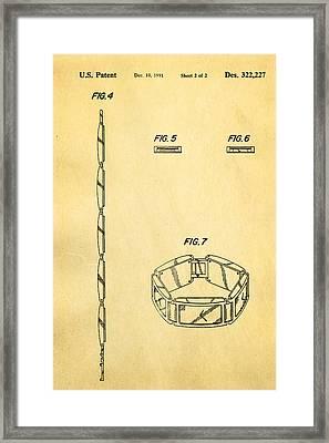 Warhol Five Face Watch 2 Patent Art 1991 Framed Print by Ian Monk