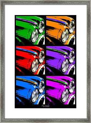 Warhol's Ride Framed Print by Mary Machare