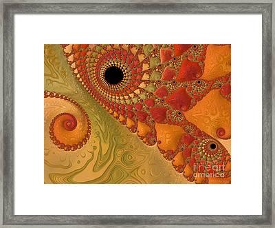 Warm And Earthy Framed Print by Heidi Smith