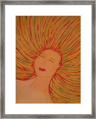 Warm Thoughts Framed Print by Erica  Darknell