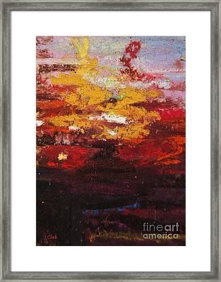 Warmth Framed Print by John Clark