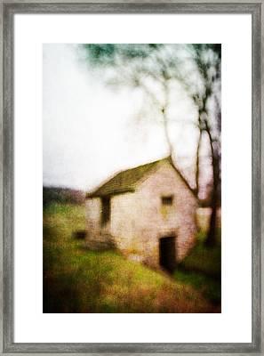 Warner Park Springhouse Framed Print by David Morel