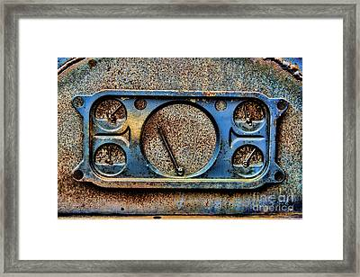 Warp Speed Mr Sulu Framed Print by Jon Burch Photography