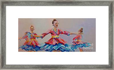 Warrior Princess Framed Print by Kimberly Santini