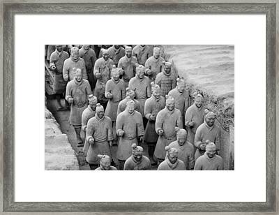Warriors Framed Print by Angel Sosa