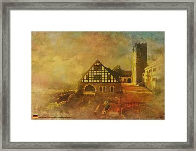 Wartburg Castle Framed Print by Catf