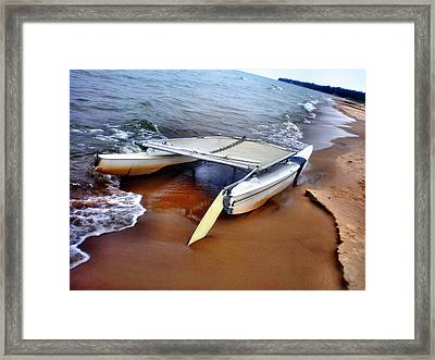 Washed Ashore Framed Print by Bill Noonan