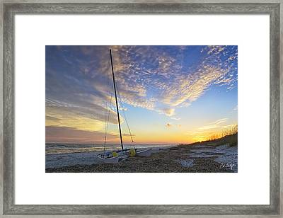 Washed Ashore Framed Print by Phill Doherty