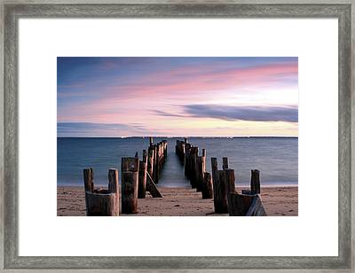 Washed Away Framed Print by Matthew Grice