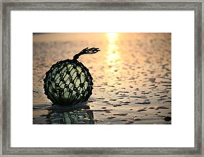 Washed Up Framed Print by JC Findley