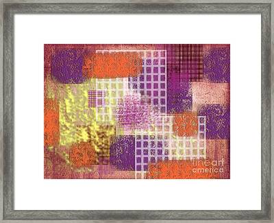 Washi Papers 1 Framed Print by Delphimages Photo Creations