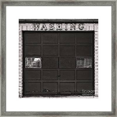 Washing  Framed Print by Olivier Le Queinec
