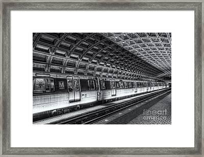 Washington Dc Metro Station Vi Framed Print by Clarence Holmes