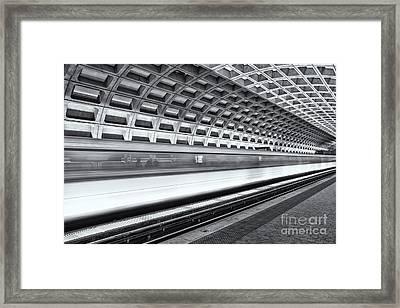 Washington Dc Metro Station Viii Framed Print by Clarence Holmes
