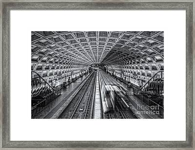 Washington Dc Metro Station Xii Framed Print by Clarence Holmes