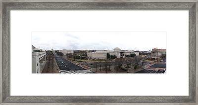 Washington Dc - Newseum - 12126 Framed Print by DC Photographer