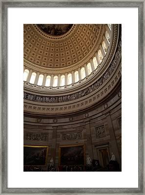 Washington Dc - Us Capitol - 011311 Framed Print by DC Photographer