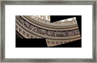 Washington Dc - Us Capitol - 011316 Framed Print by DC Photographer