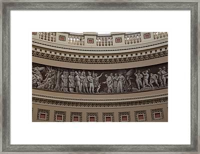 Washington Dc - Us Capitol - 011319 Framed Print by DC Photographer