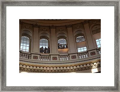 Washington Dc - Us Capitol - 011328 Framed Print by DC Photographer