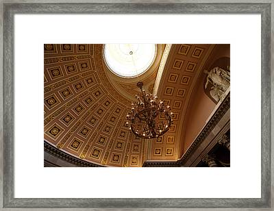 Washington Dc - Us Capitol - 011329 Framed Print by DC Photographer