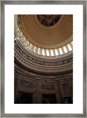 Washington Dc - Us Capitol - 01139 Framed Print by DC Photographer