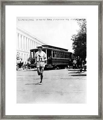 Washington Marathon, 1911 Framed Print by Granger
