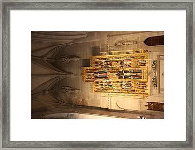 Washington National Cathedral - Washington Dc - 0113100 Framed Print by DC Photographer