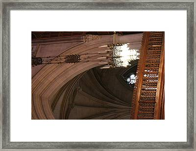Washington National Cathedral - Washington Dc - 0113102 Framed Print by DC Photographer