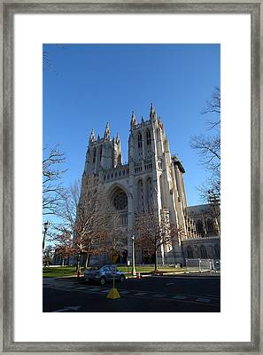 Washington National Cathedral - Washington Dc - 0113115 Framed Print by DC Photographer