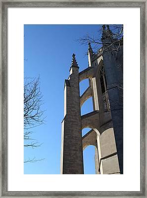 Washington National Cathedral - Washington Dc - 0113125 Framed Print by DC Photographer
