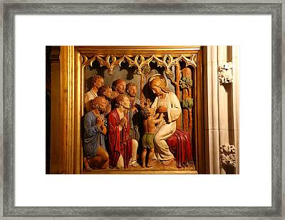 Washington National Cathedral - Washington Dc - 011329 Framed Print by DC Photographer
