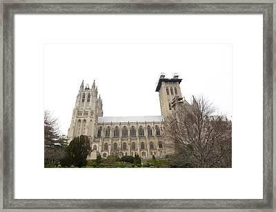 Washington National Cathedral - Washington Dc - 011346 Framed Print by DC Photographer