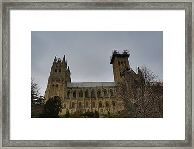 Washington National Cathedral - Washington Dc - 011347 Framed Print by DC Photographer