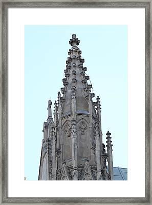 Washington National Cathedral - Washington Dc - 01135 Framed Print by DC Photographer
