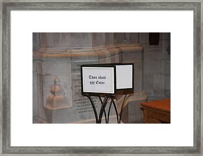 Washington National Cathedral - Washington Dc - 011396 Framed Print by DC Photographer