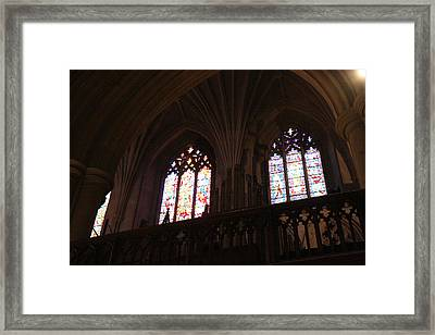 Washington National Cathedral - Washington Dc - 011399 Framed Print by DC Photographer