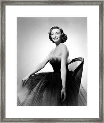 Washington Story, Patricia Neal Framed Print by Everett