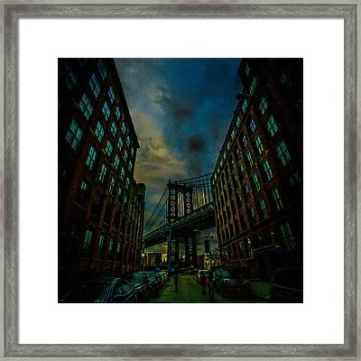 Washington Street Framed Print by Chris Lord