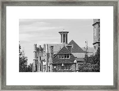 Washington University Gables Framed Print by University Icons