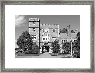Washington University Mc Millen Hall Framed Print by University Icons