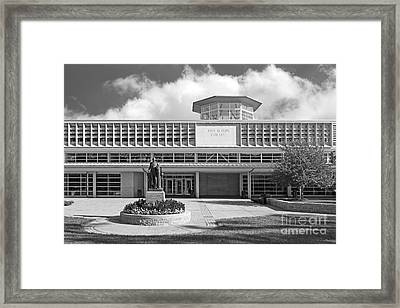 Washington University Olin Library Framed Print by University Icons