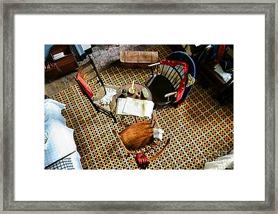 Washington Worked Here Framed Print by Olivier Le Queinec
