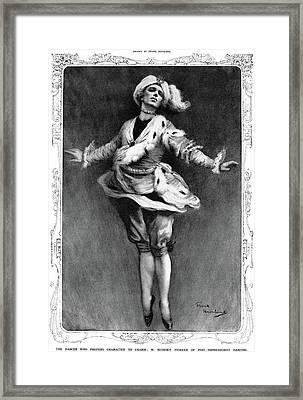 Waslaw Nijinsky (1890-1950) Framed Print by Granger