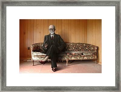 Wassup Framed Print by Mark Zelmer