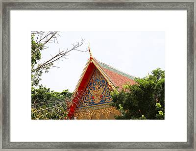 Wat Chalong - Phuket Thailand - 01133 Framed Print by DC Photographer