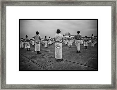 Wat Dhamma 2 Framed Print by David Longstreath
