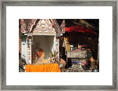 Wat Phra That Lampang Luang - Lampang Thailand - 011312 Framed Print by DC Photographer